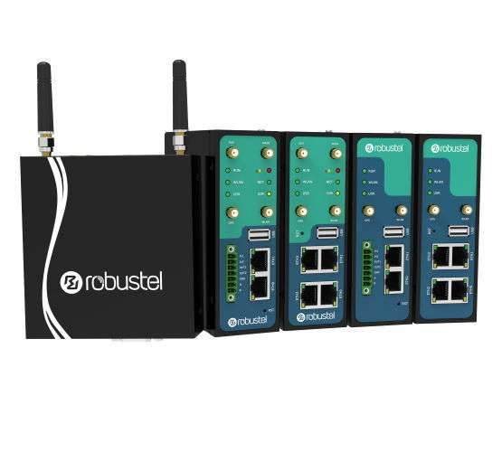 Rugged Industrial Cellular Router for stable and secure IoT / M2M communication