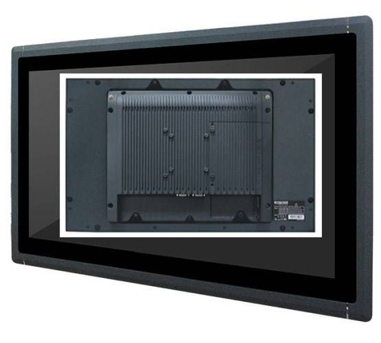 Fanless Industrial Panel PC: TFT LCD, Capactive / Resistive Touch