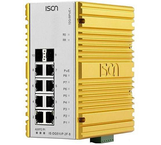 Industrial Network Switches for harsh environments, DIN rail or rack mount, with or without PoE+