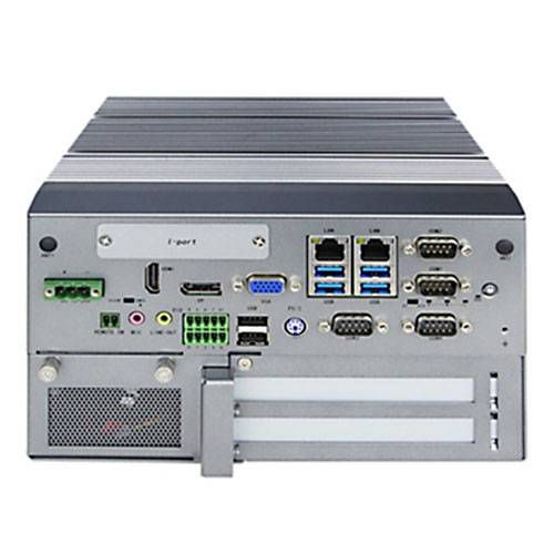 Fanless Embedded Computer Box-, DIN-Rail mount or Rack mount