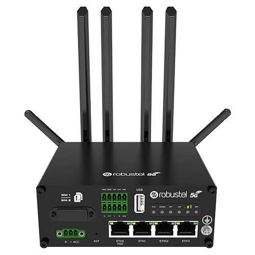 Industrial Cellular Router robust 3G/4G/5G routers - secure VPN connections