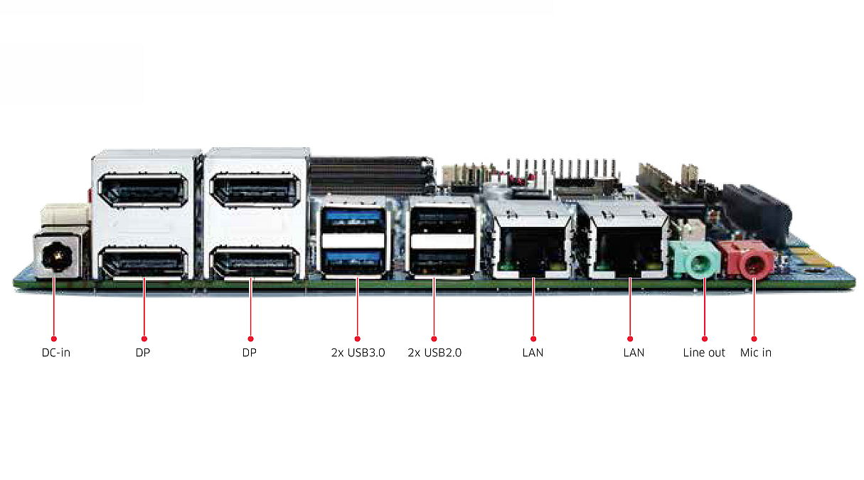 Mini-ITX Embedded Motherboard | Industrial Mini ITX-Motherboard 1ST-MITX-FP-10