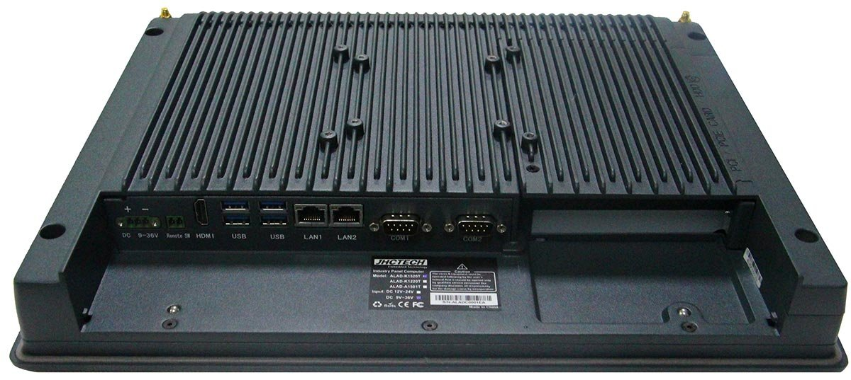 Fanless Industrial Panel PC | Industrie-Panel-PC ALAD-K1520T