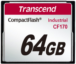 Transcend Industrial CF-card TS170 64GB