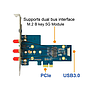 PCIe 4G / 5G Adapter PN12A